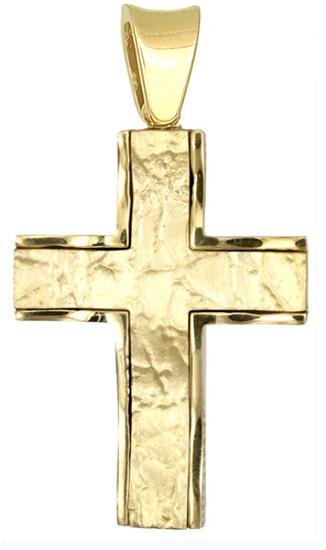 Σταυρός για βάπτιση αγοριού 18Κ D015408 - Dimasis.gr 089e5a8e797