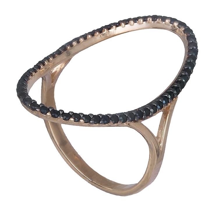 Ροζ χρυσό γυναικείο δαχτυλίδι με πέτρες Κ14 D019766 - Dimasis.gr 868ac68e034