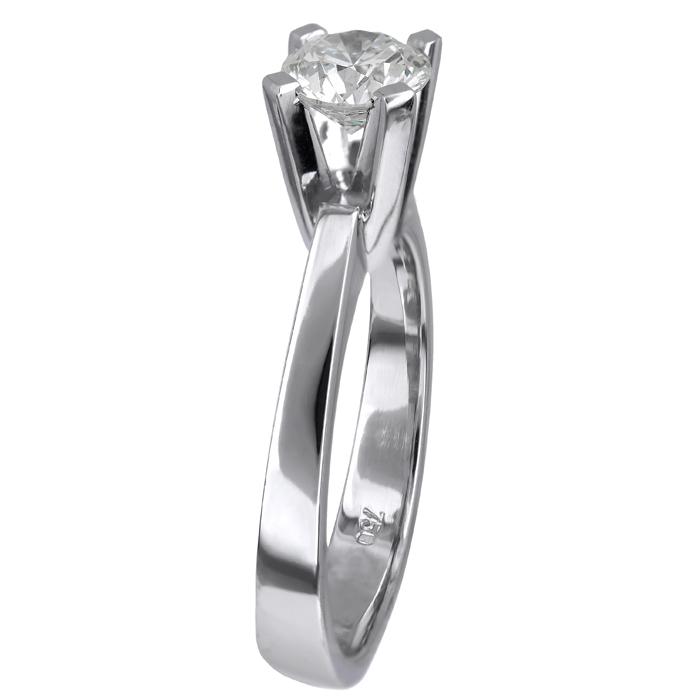 Λευκόχρυσο μονόπετρο με διαμάντι μπριγιάν 18 καρατίων D024731 D024731 ec0875b88ee
