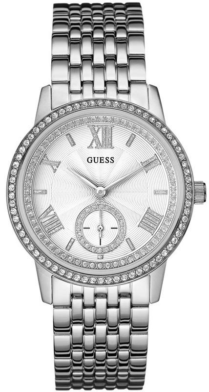 Γυναικείο ρολόι Guess με κρύσταλλα swarovski W0573L1 - Dimasis.gr 8311b543056
